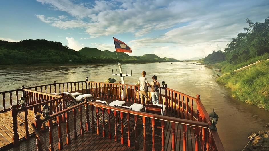 Mekong Explorer Vorderdeck