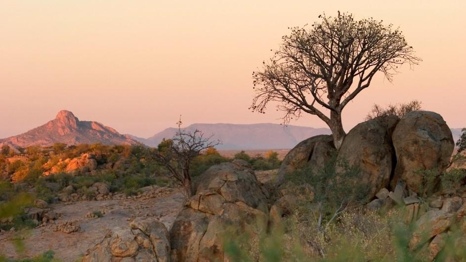 Namibia Erongo Wilderness Lodge Aussicht