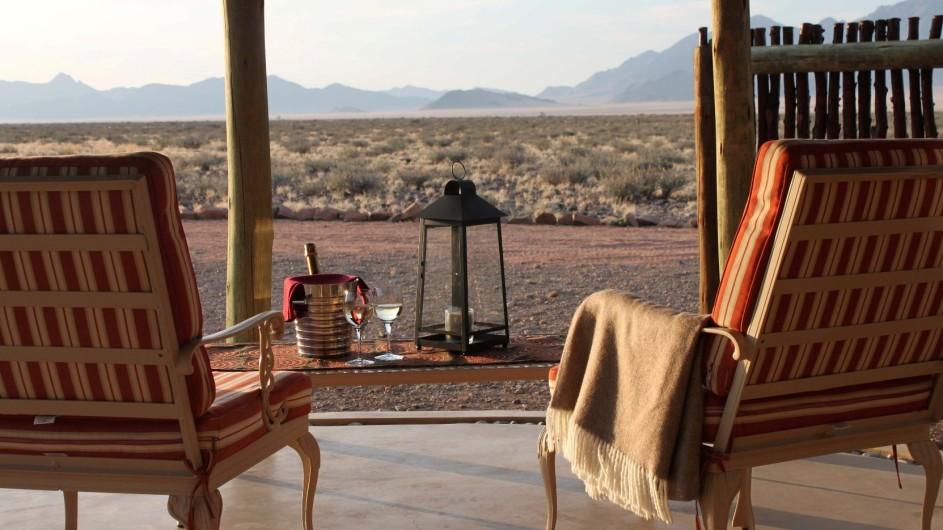 Namibia Hoodia Lodge Aussicht