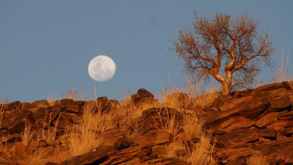 Namibia Landschaft bei Rostock Ritz