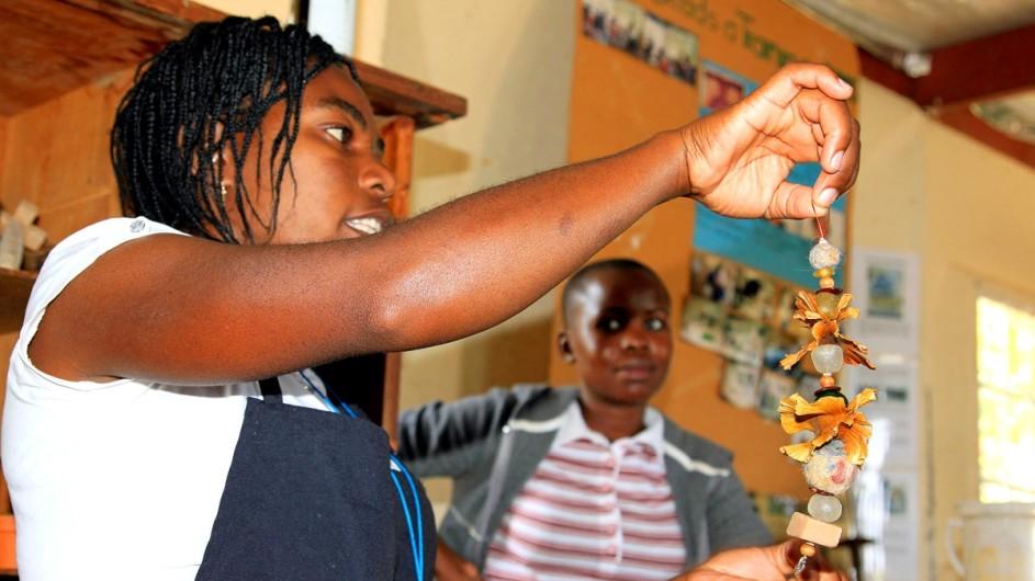 Namibia Glasarbeiten Penduka
