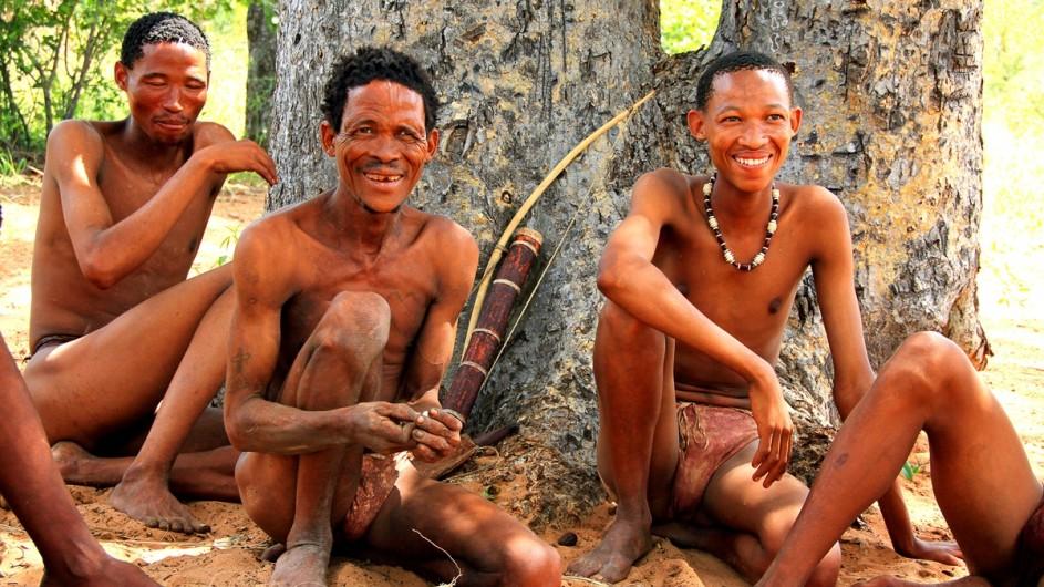 Namibia San Männer