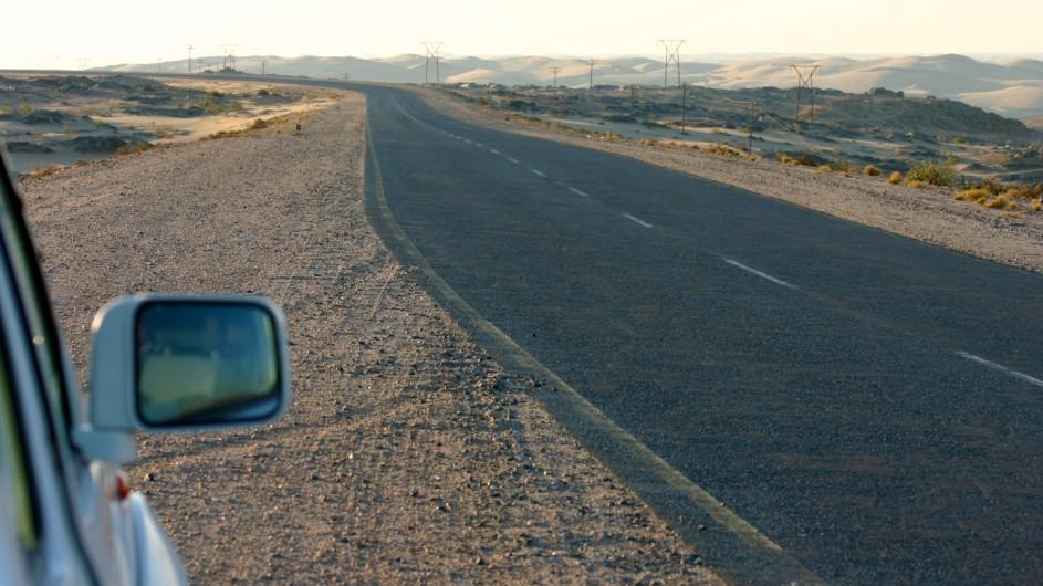 Namibia Straße nach Lüderitz
