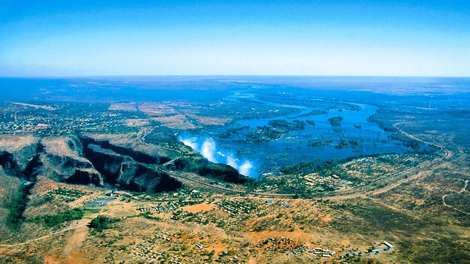Zimbabwe Victoria Wasserfälle