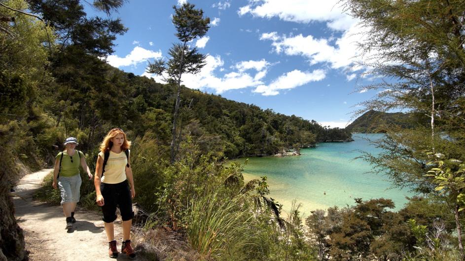Neuseeland - Abel Tasman NP - Walk