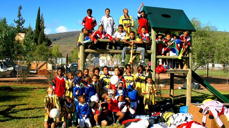 Südafrika Kinder in Amalienstein