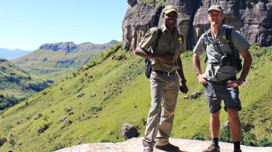 Südafrika Drakensberge Sunway Guides
