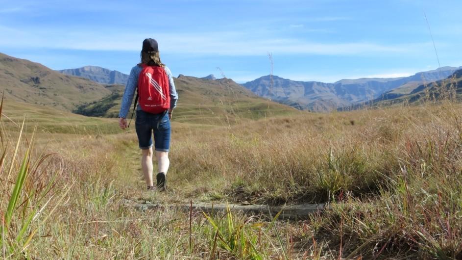 Südafrika - Wanderung in den Drakensbergen