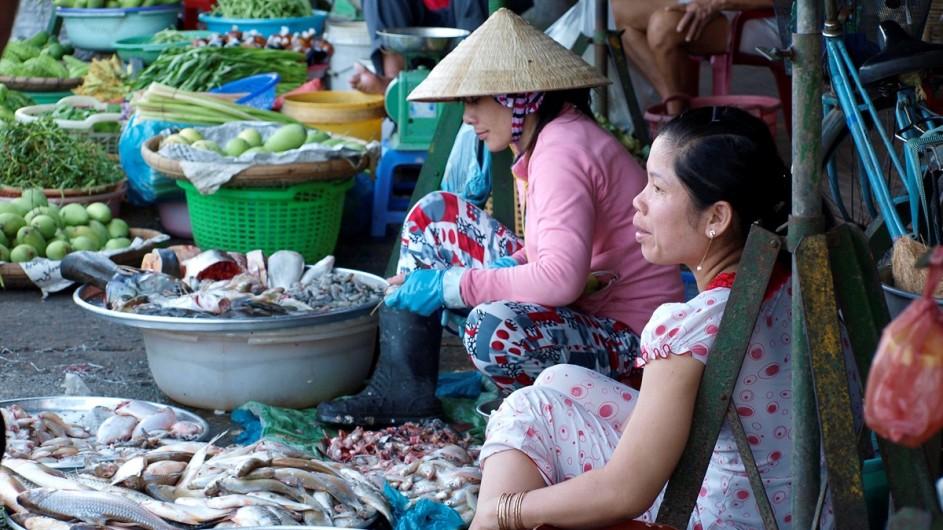 Vietnam Marktfrauen