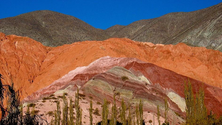 Argentinien Cerro 7 colores