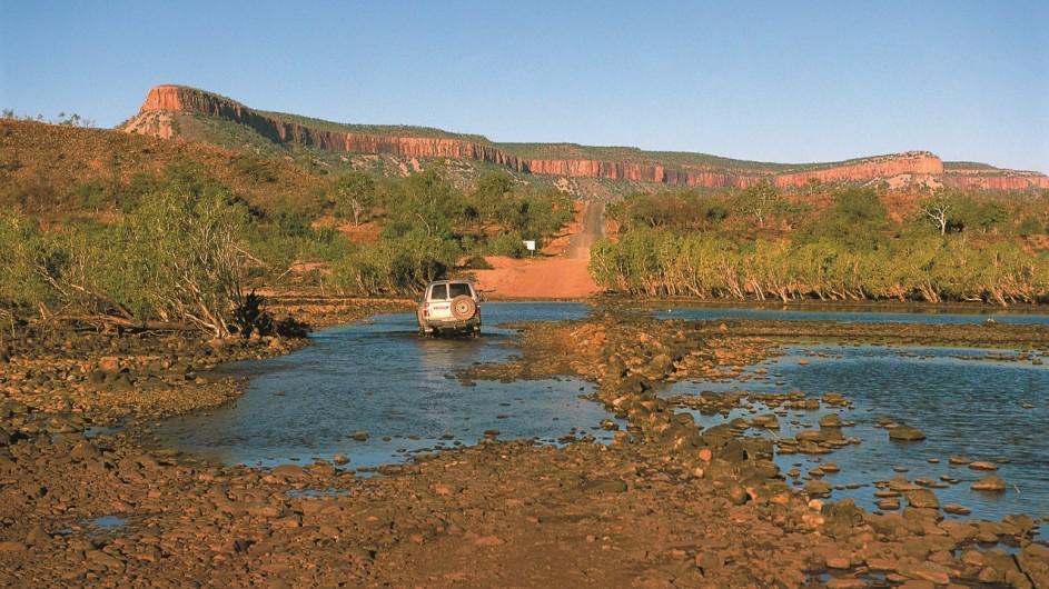Australien Kimberley Pentecost River