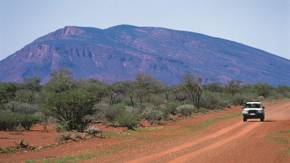 Australien Westaustralien Mt Augustus Selfdrive