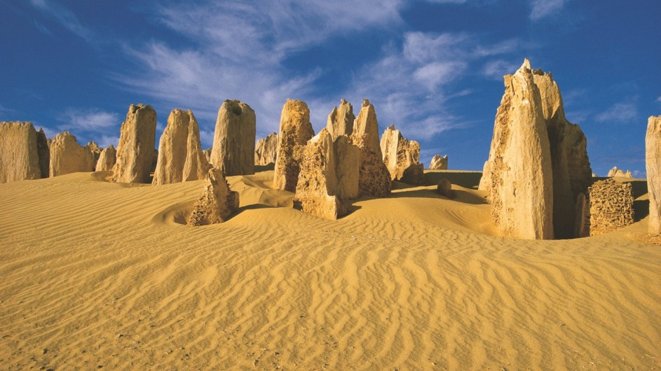 Australien Westaustralien Pinnacles