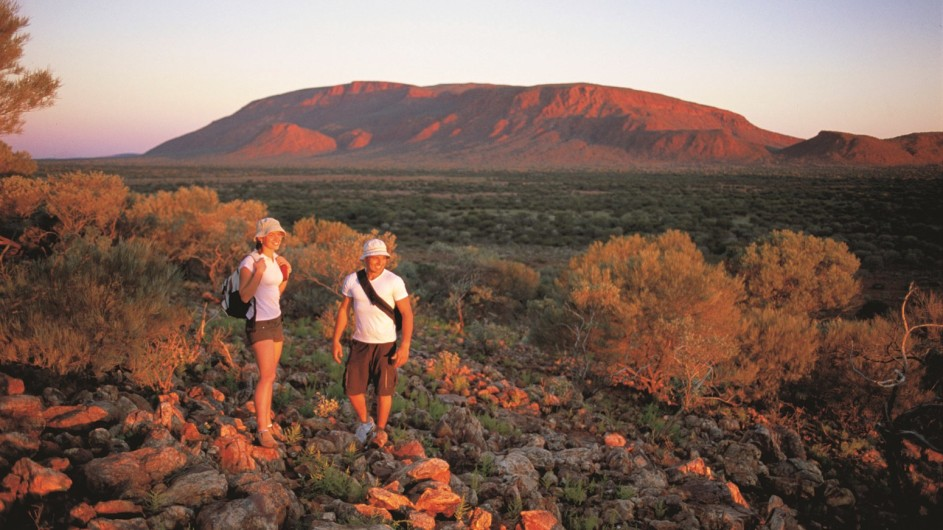 Australien Westaustralien Wandern am Mount Augustus