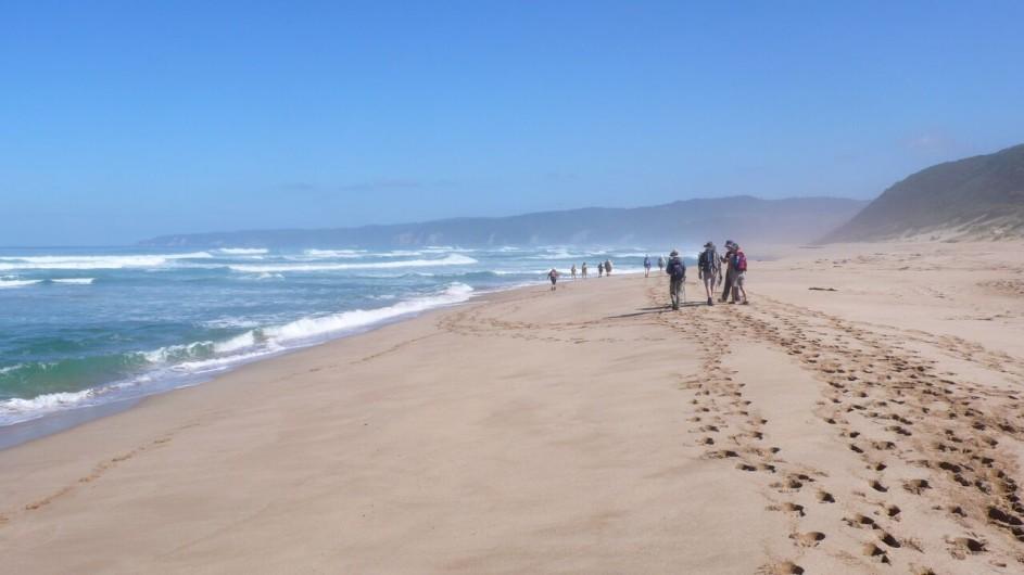 Australien Great Ocean Walk Wanderung am Strand