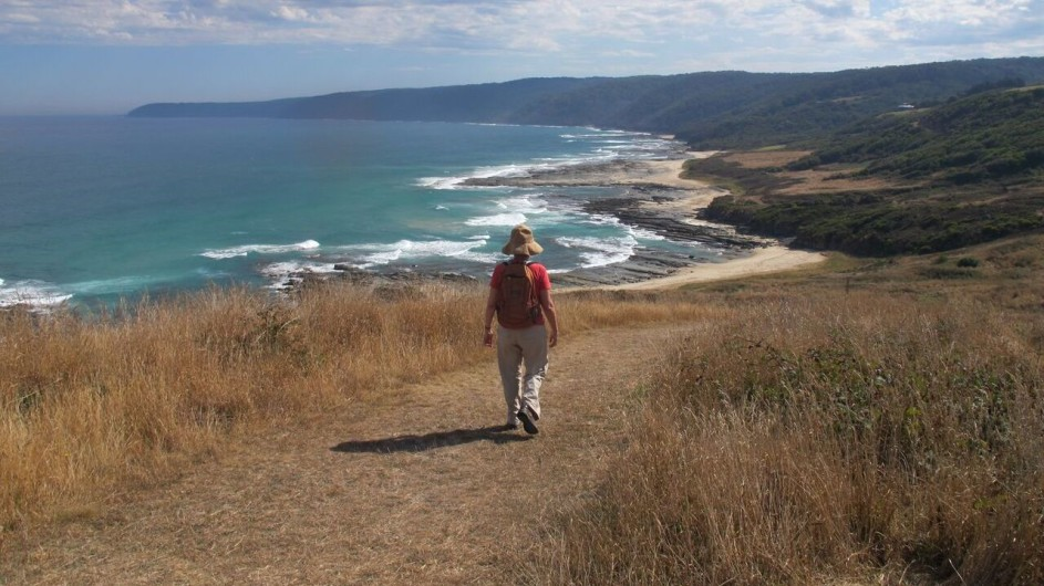 Australien Great Ocean Walk Wanderung mit Ausblick