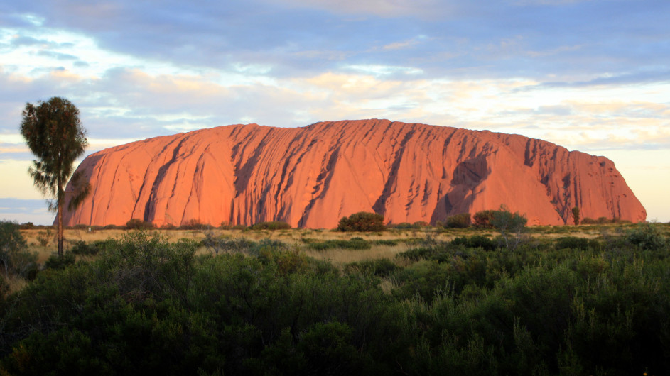 Australien Red Center Ayers Rock Uluru