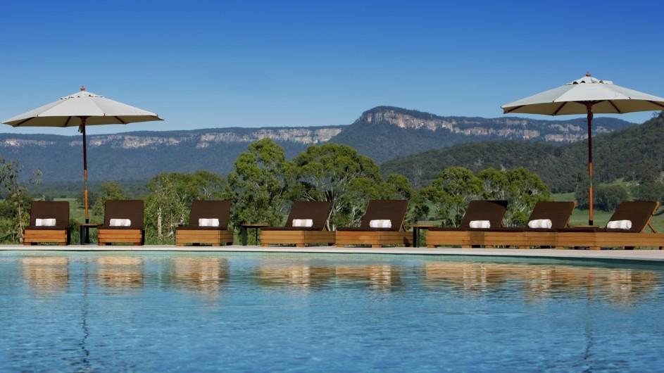 Australien Emirates Wolgan Valley Resort Pool