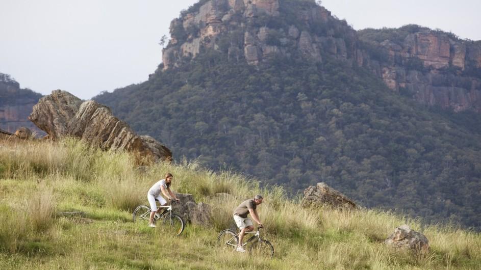 Australien Emirates Wolgan Valley Resort Mountainbiking