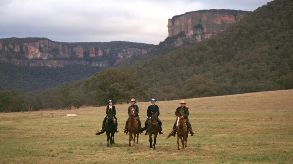Australien Emirates Wolgan Valley Resort Ausritt