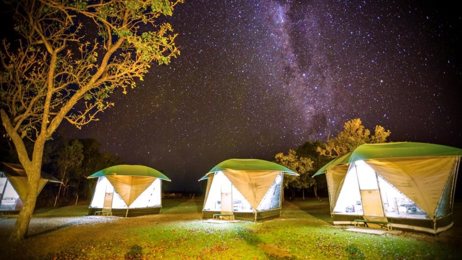 Australien Camp Wayoutback
