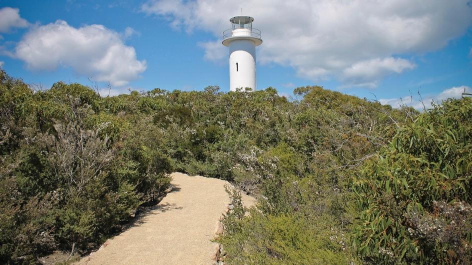 Australien Tasmanien Cape Tourvielle Leuchtturm