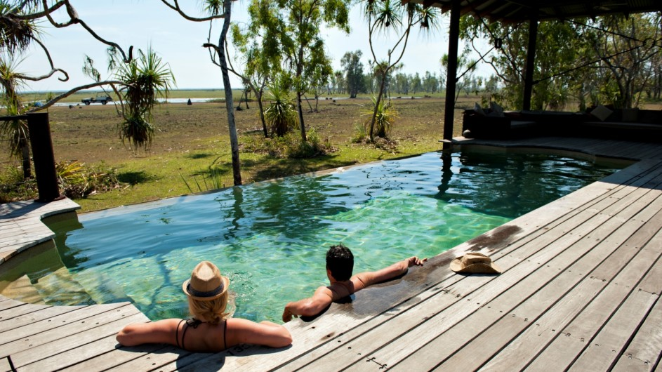 Australien Bamurru Plains Pool