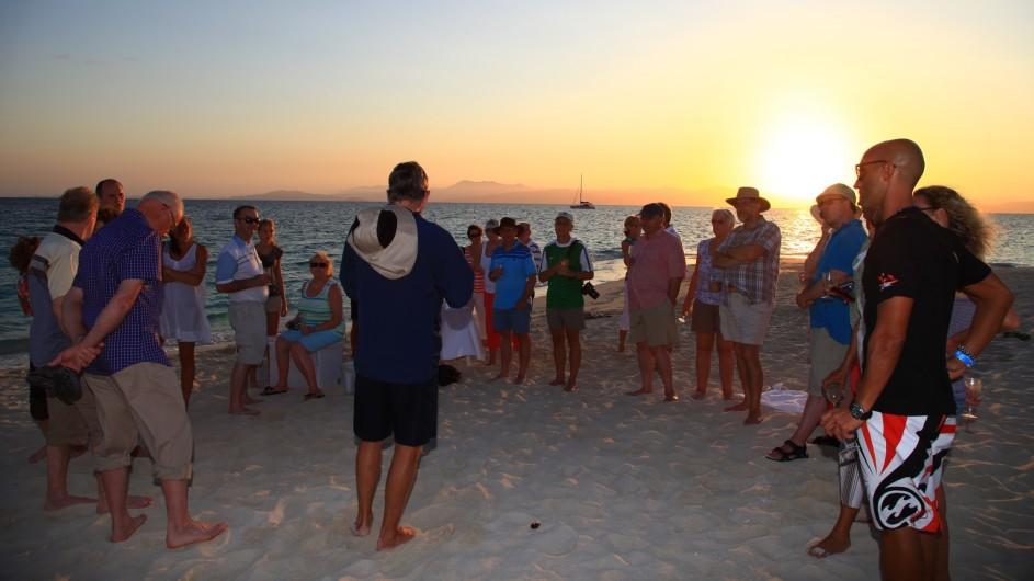 Australien Coral Expeditions Vorfügung der Guides