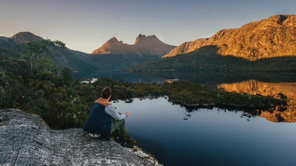 Australien TAsmanien Cradle Mountain und Glacier Rock