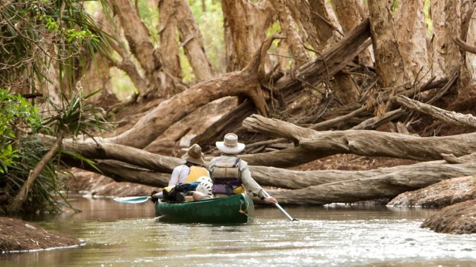 Australien Kanutour auf dem Katherine River
