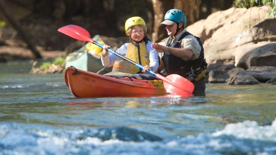 Australien Kayak Einführung Katherine River