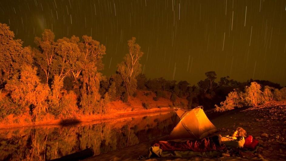 Australien Katherine River Zeltplatz
