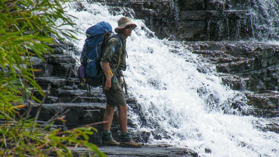 Australien Katherine River am Wasserfall