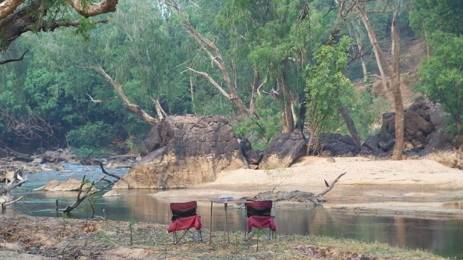Australien ein Platz am Katherine River