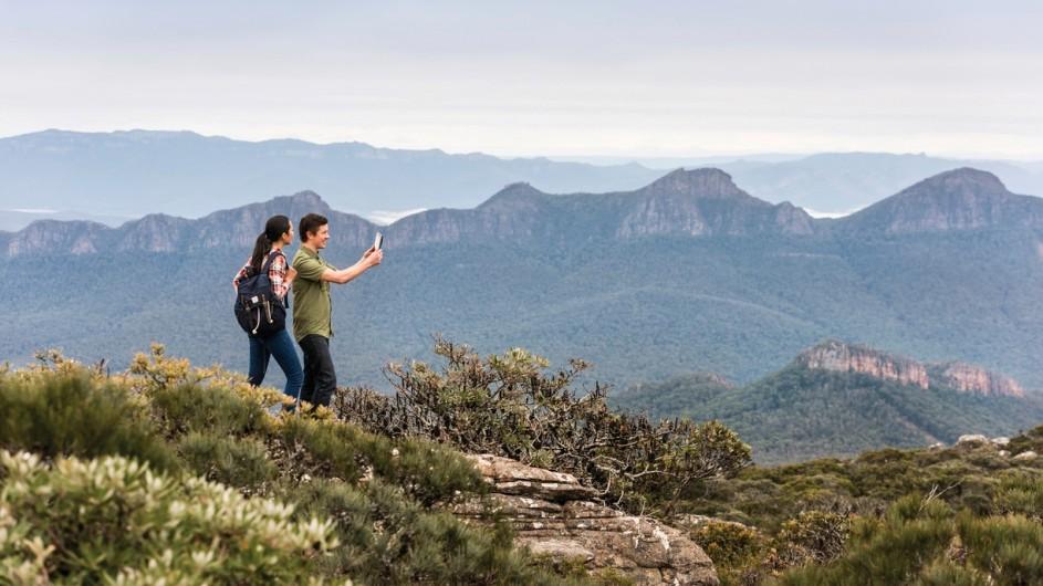Australien Grampians Natinalpark geführte Wanderung