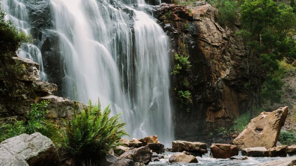 Australien Grampians Nationalpark Mackiezi Falls