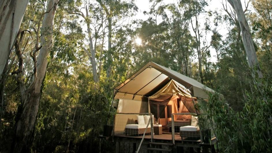 Australien Jervis Bay Paperbark Camp Deluxe Zelt