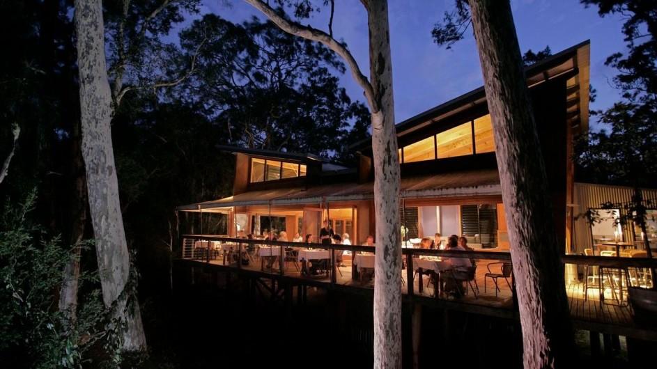 Australien Jervis Bay Paperbark Camp Gunyah Restaurant