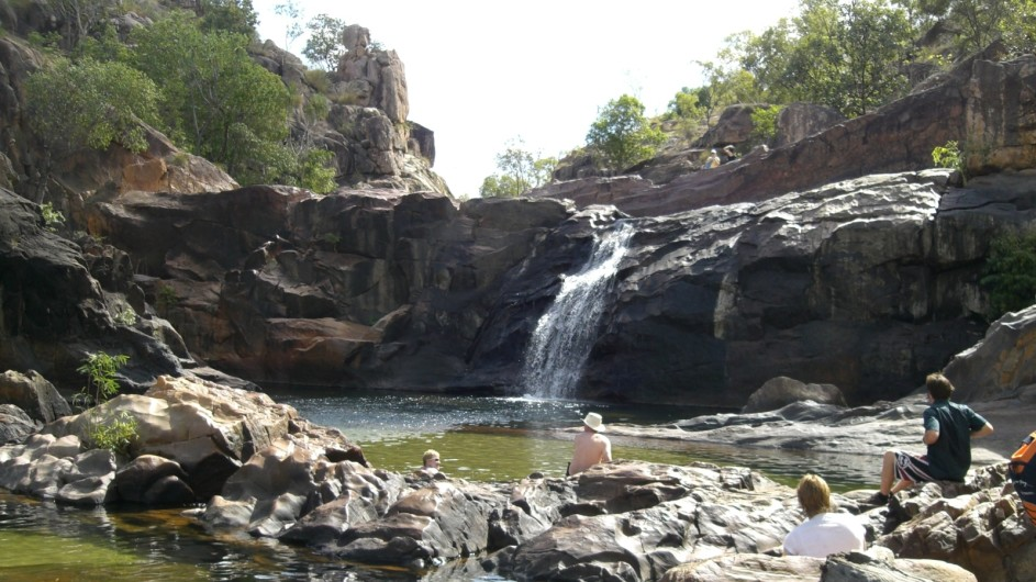 Australien Top End Kakadu Nationalpark Gunlom Falls