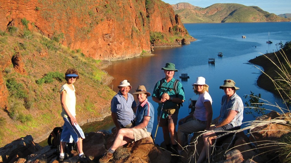 Australien Kimberley Lake Argyle