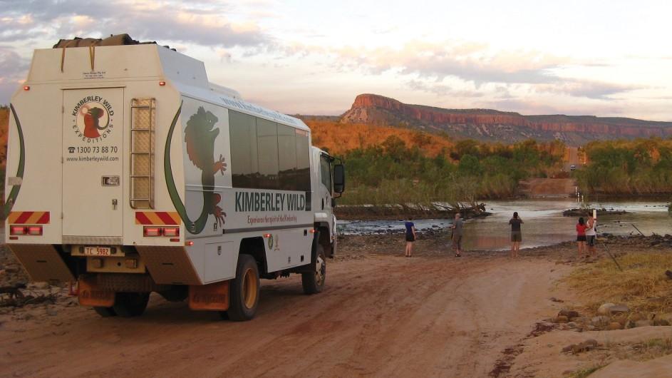 Australien Kimberley Pentecost Crossing