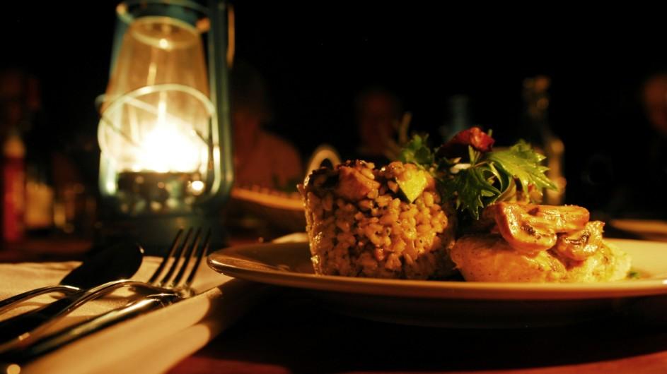 Australien Sal Salis Dinner