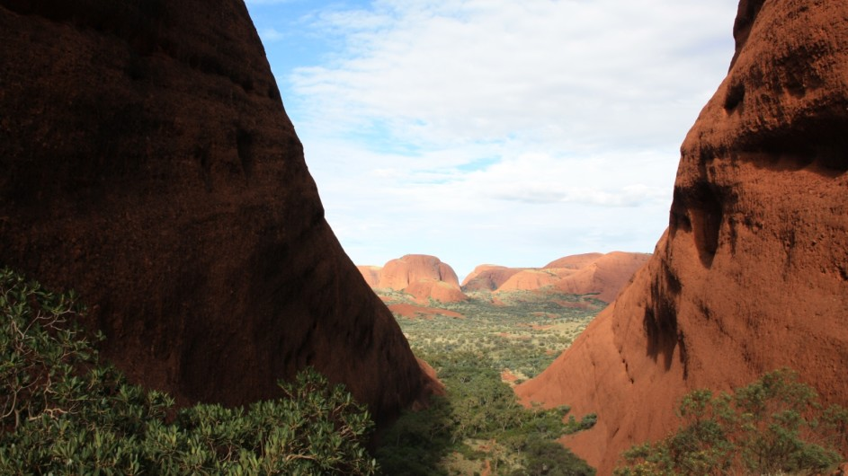 Australien Red Center Olgas Valley of the Winds