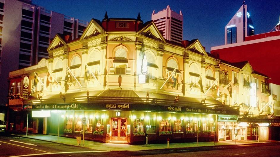 Australien Perth Miss Maud Swedish Hotel Aussenansicht