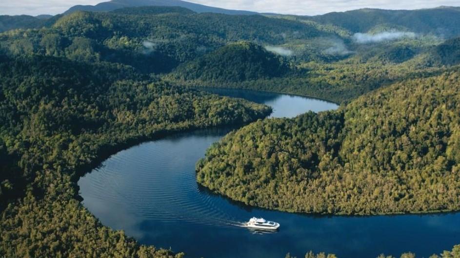 Australien Tasmanien Gordon River Cruise
