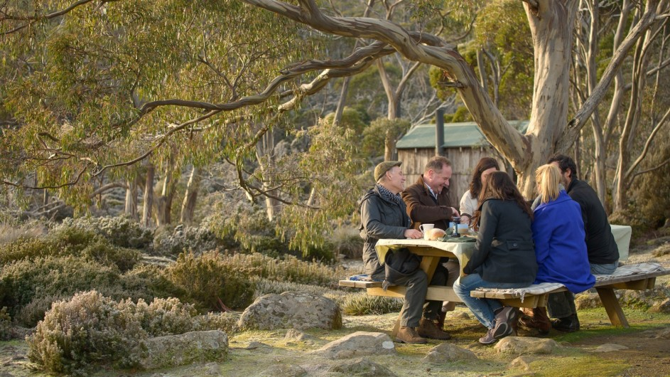 Australien Pemier Travel Tasmania Picknick Lunch