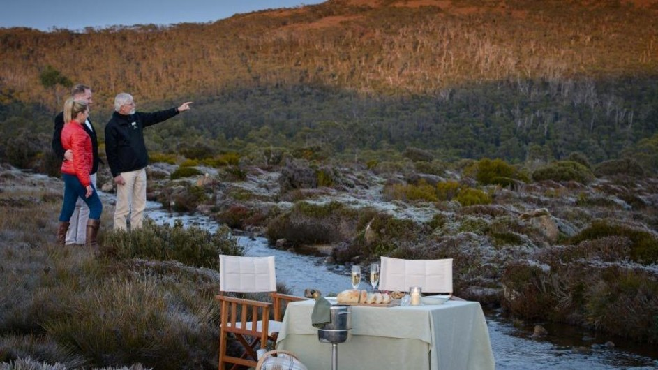Australien Permier Travel tAsmania Picknick in der Wildnis