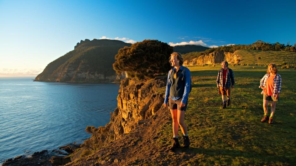 Australien Tasmanien Maria Island Skipping Ridge