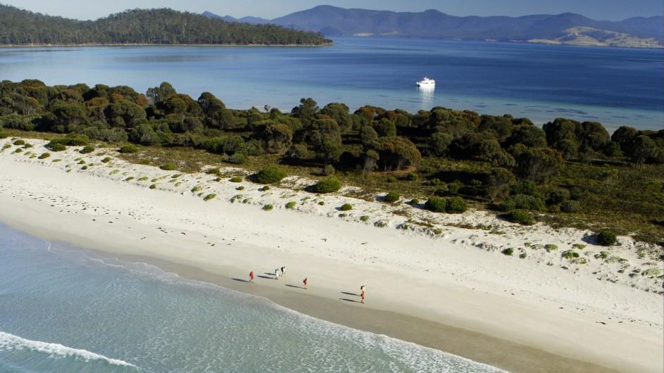 Australien Tasmanien Maria Island Isthmus