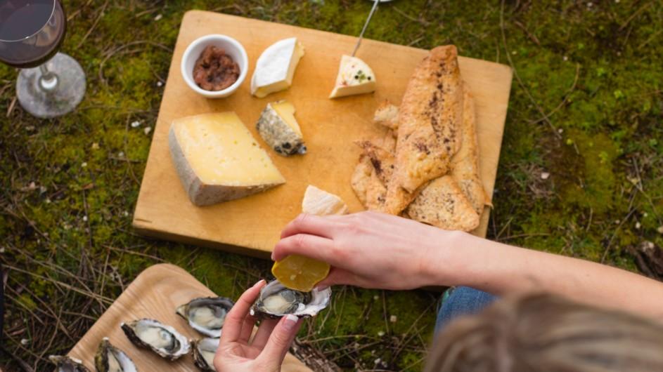 Australien Tasmanien Picknick Bruny Island